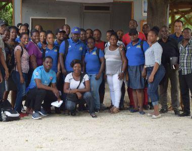 Journée de formation à Drouillard pour le projet Santé Droits