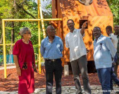 Le ministre de l'Environnement visite le Parc de Martissant