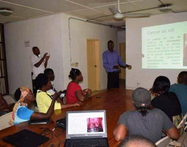 Jeudis parlons santé : débats autour du Cancer du col utérin