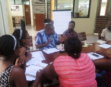 Atelier de lecture au CCKD